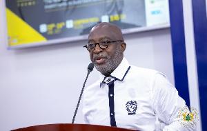 Chief Executive Officer of GIPC, Yofi Grant addressing journalists on Sunday