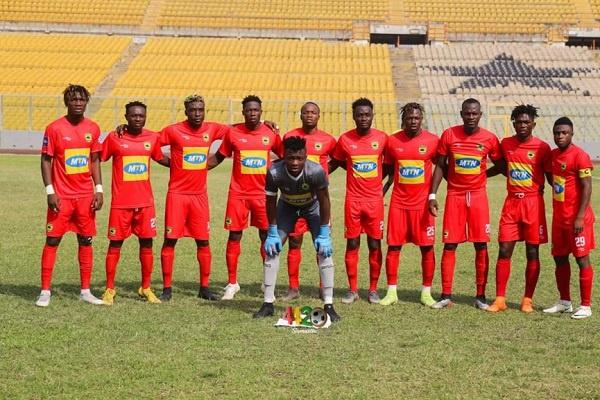 Asante Kotoko reveals 30-man contingent for UK trip