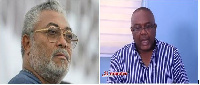 JJ Rawlings(L) fired his aide Victor Smith (R) with a text message