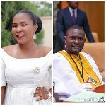 Social campaigner, Abigail Adjei and Deputy minister of finance, John Kumah