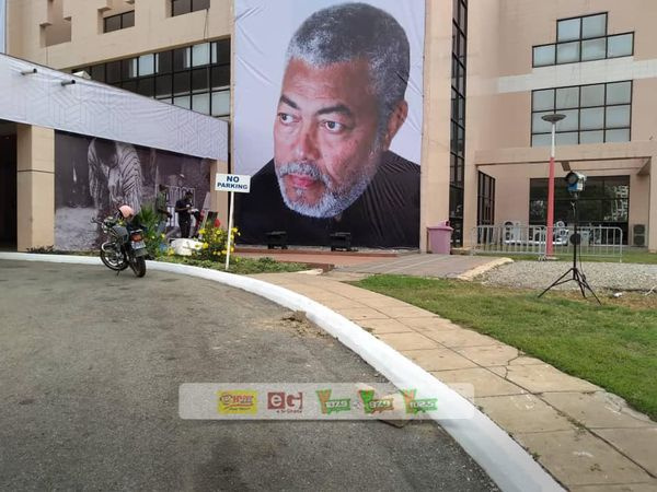 All set for Late Rawlings to go home 2