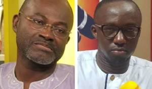 Kennedy Agyapong is member of Parliament for Assin Central and Malik Basintele