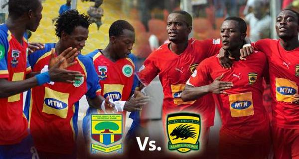 GhanaWeb Poll: Who wins Hearts of Oak vs Asante Kotoko on Sunday?