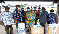 The items were donated by the Volta Union in the United Kingdom and Europe