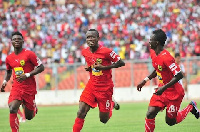 Library Photo: Asante Kotoko players in 2014