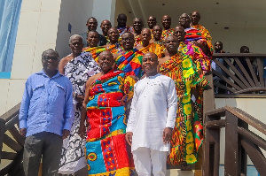 The chiefs pledged their support for GNPC