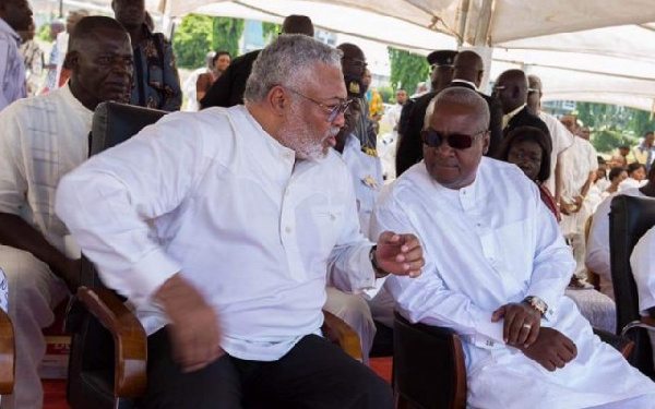 Major Boakye Gyan discloses why Rawlings unnecessarily 'attacks' Mahama