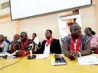 Some members of the Technical University Teachers Association of Ghana(TUTAG)
