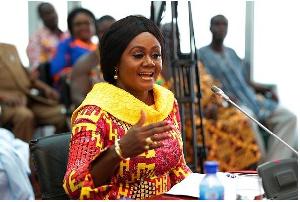 Tourism Minister, Barbara Oteng Gyasi