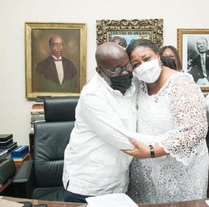 President Nana Addo Dankwa Akufo-Addo and wife, Rebecca Akufo-Addo