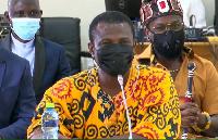 Deputy Minister-designate for Tourism, Arts & Culture Mark Okraku-Mantey