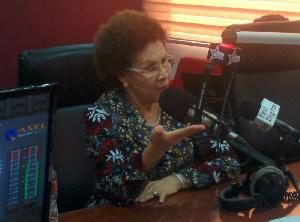 Yvonne Nduom, wife of Dr. Papa Kwesi Nduom