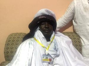The new Zongo chief of Ashalaja, Ahmed Ibrahim