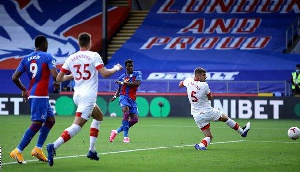 Crystal Palace made a winning start to the 2020-21 Premier League season