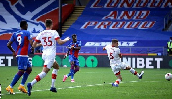 Ayew, Schlupp help Crystal Palace to win as Salisu miss out for Southampton
