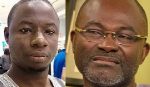Kennedy Agyapong & The late Ahmed Suale