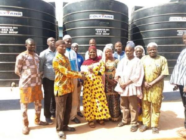 Ghanasco gets water storage facilities