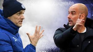 Thomas Tuchel (left) go face PepGuardiola for Stamford Bridge