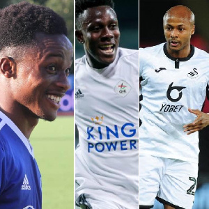 File Photo: Some Ghanaian players abroad