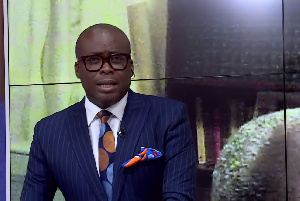Paul Adom-Otchere, host of Good Evening Ghana