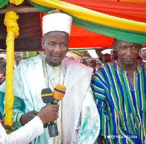 Chief Imam for Suaman District, Alhaji Mumuni