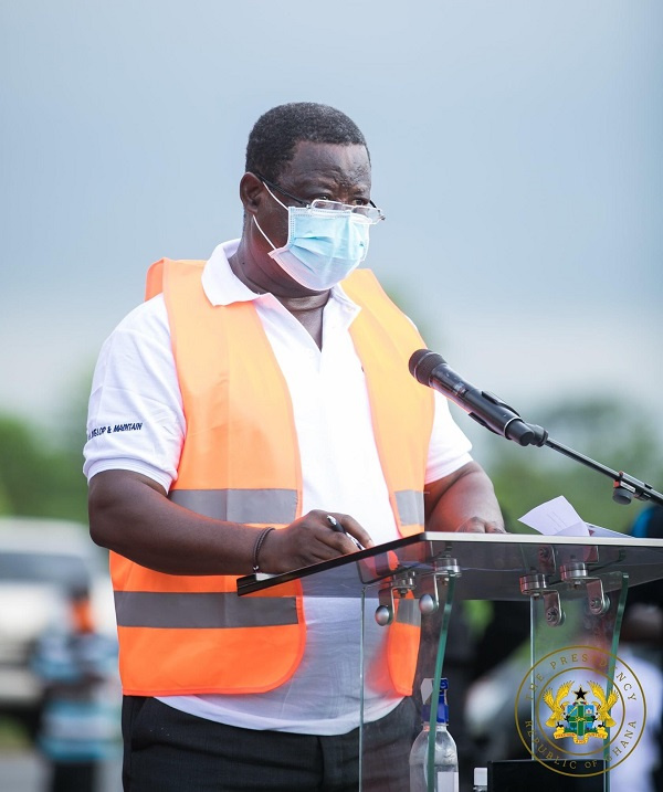 Gov't massive road construction works on course - Amoako Atta