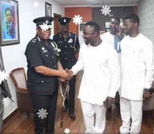 IGP interacting with personnel at the Parez Chapel International