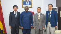 The Ambassadors pledged their countries' continued support for Ghana's development