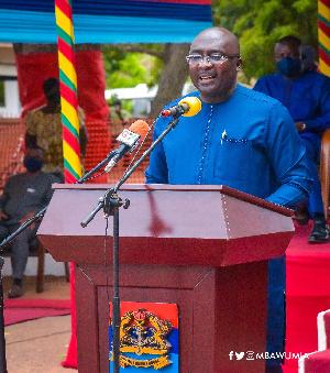 Vice President, Mahamudu Bawumia