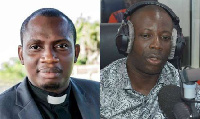 Counsellor George Lutterodt and Prophet Kumchacha