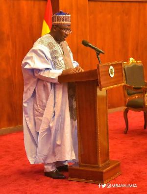 Vice-President, Dr Mahamudu Bawumia