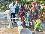 The borehole water project is expected to resolve the acute water shortage experienced by the people