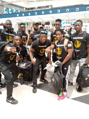 The Black Bombers are doing well in Senegal