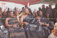 President of the National House of Chiefs, Togbe Afede XVII