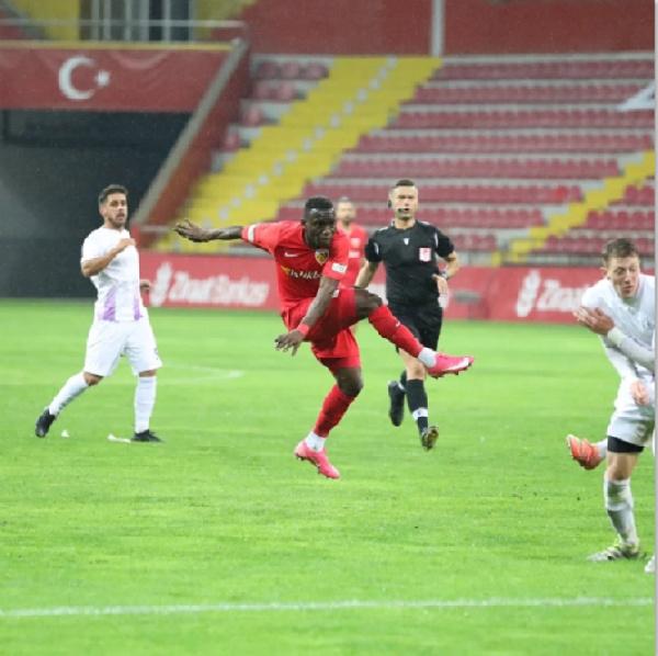 Kayserispor midfielder Yaw Ackah disappointed by Genclerbirligi defeat