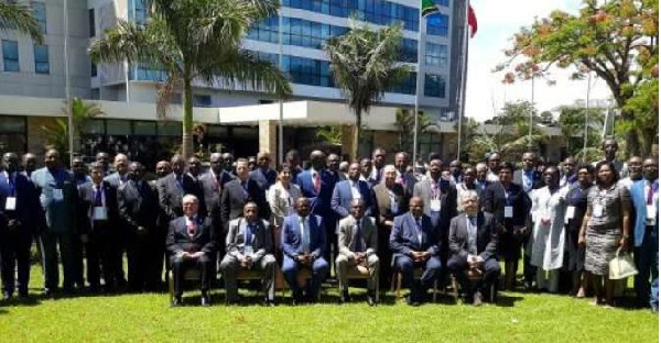 Participants of Fifth Annual African Union (AU) Dialogue on Democracy