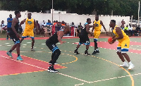 Kaneshie SwanLakers lost to Panthers