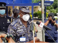 Mr James Oppong Boanuh, Inspector General of Police (IGP)