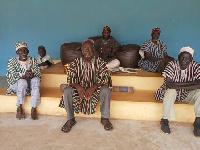 Naa Abuba Simong and his elders
