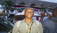 Deputy Communications Officer,  Anyaa-Sowutuom Constituency branch of the NDC Raphael Apetorgbor