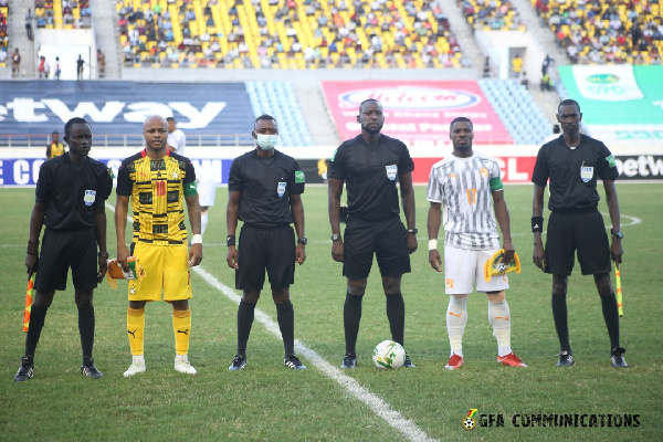 The Black Stars failed to score again in a friendly match