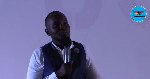 Comedian OB Amponsah