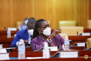 Ursula Owusu-Ekuful, Communication and Digitization Minister