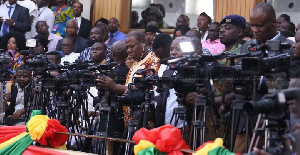 European Union observed that the media in Ghana is polarized