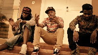 Music duo R2Bees and Nigeria Afro-pop artiste, Wizkid