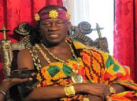 Omanhene of the New Juaben Traditional Area, Daasebre Prof. Emeritus Emmanuel Oti Boateng