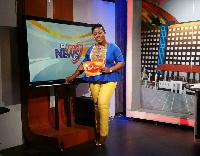 Baisiwa Dowuona-Hammond, former host of GH Today on GH One Tv