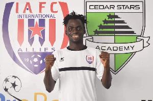 Taufiq Shaibu has joined Inter Allies FC