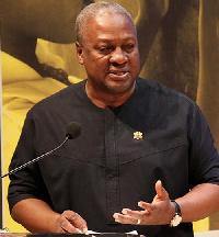 Former President John Dramani Mahama has declared his intention to run again