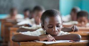 All school pupil reading